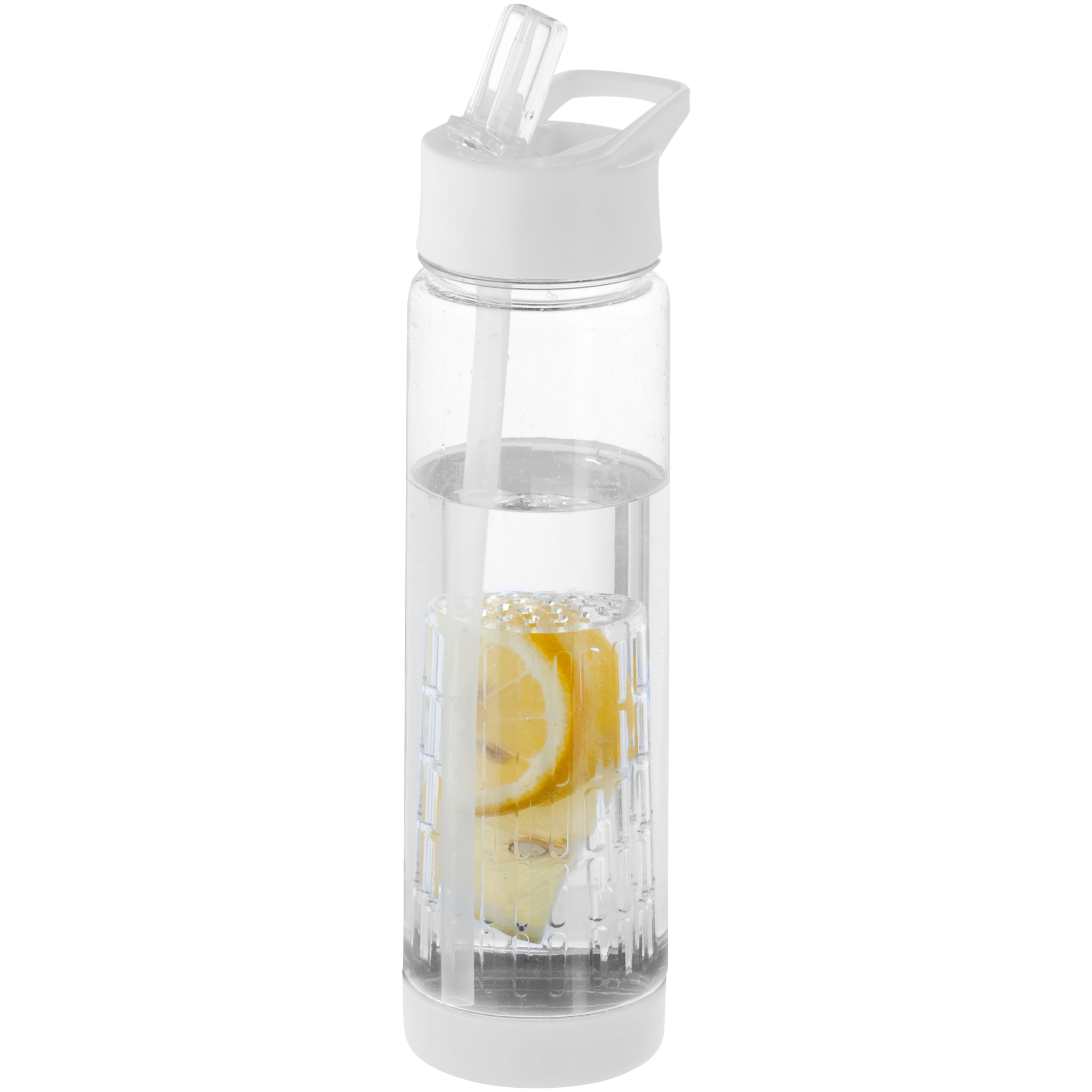 TUTTI FRUTTI BOTTLE with Infuser in Transparent white