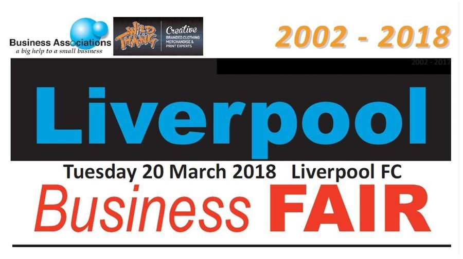 Proud sponsor and exhibitor of the Liverpool Business Fair