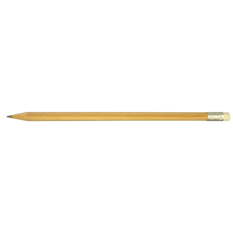 Picture of Green & Good Wooden eco pencil with eraser
