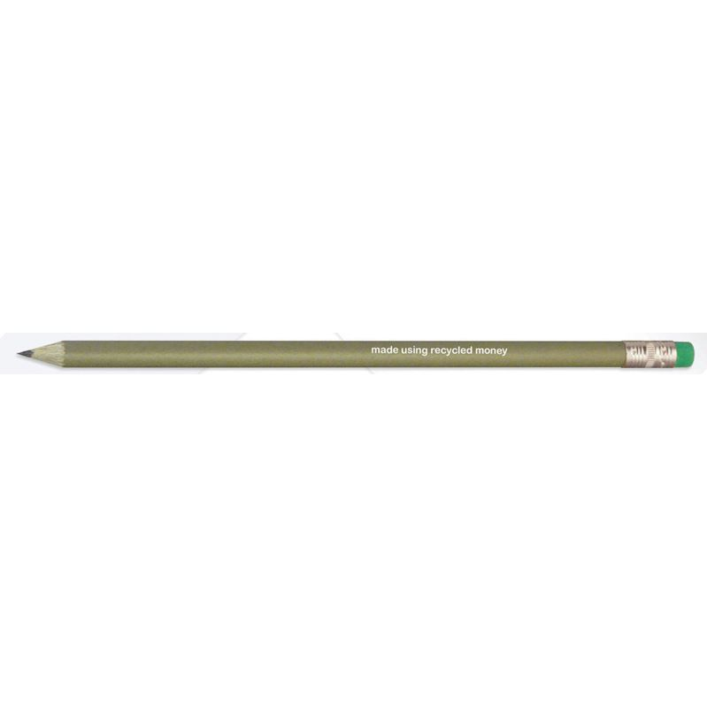 Picture of Green & Good Recycled Money Pencil