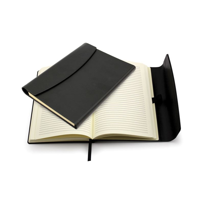 Picture of A5 Black Magnet Notebook