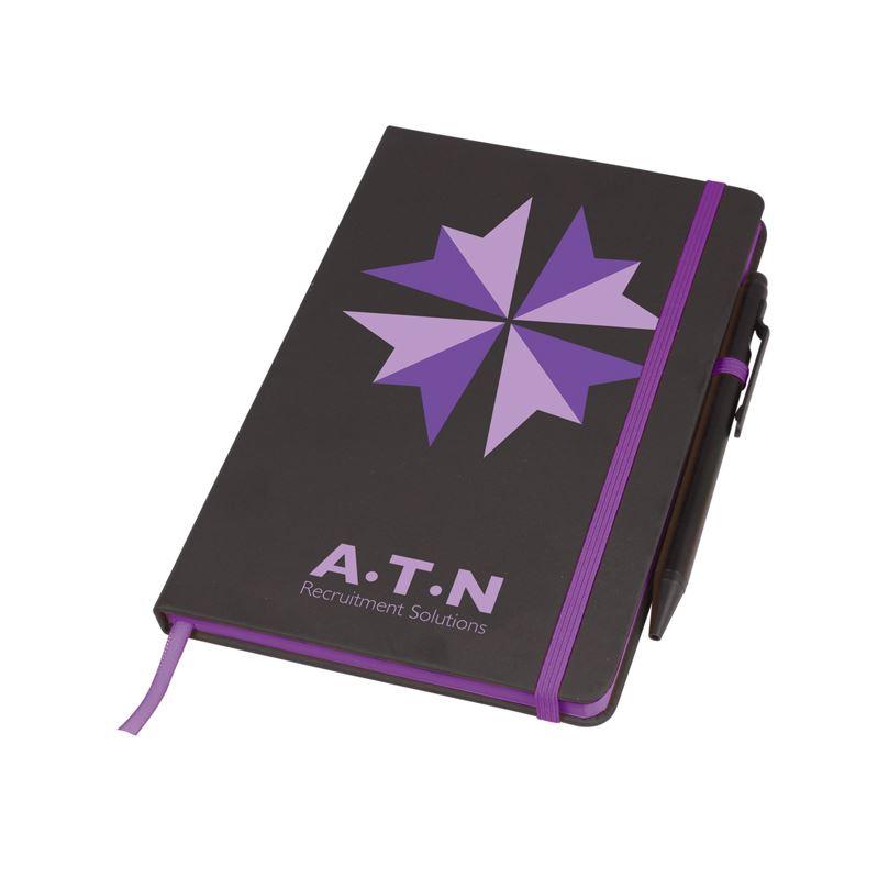 Picture of Medium Noir Edge Notebook