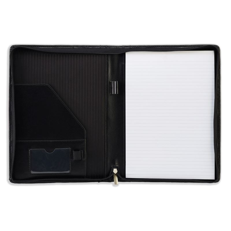Picture of Ascot Leather A4 Zipped Folder