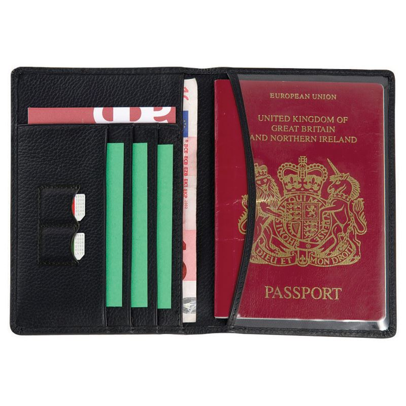 Picture of Melbourne Leather Passport Wallet