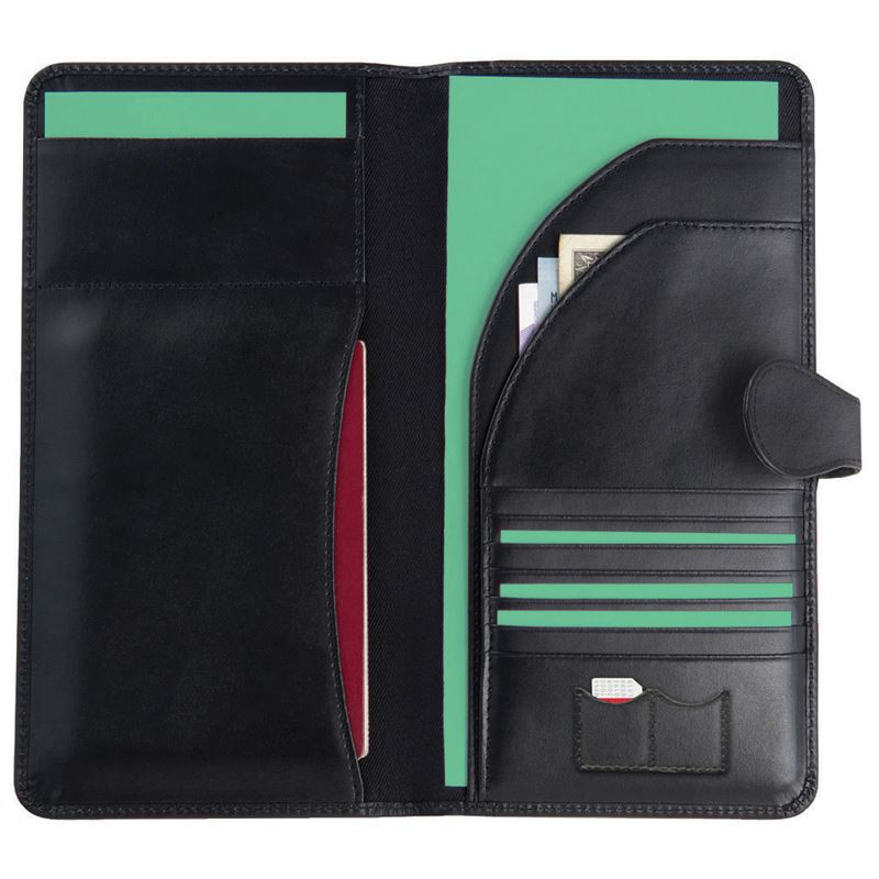 Picture of Malvern Leather Travel Wallet