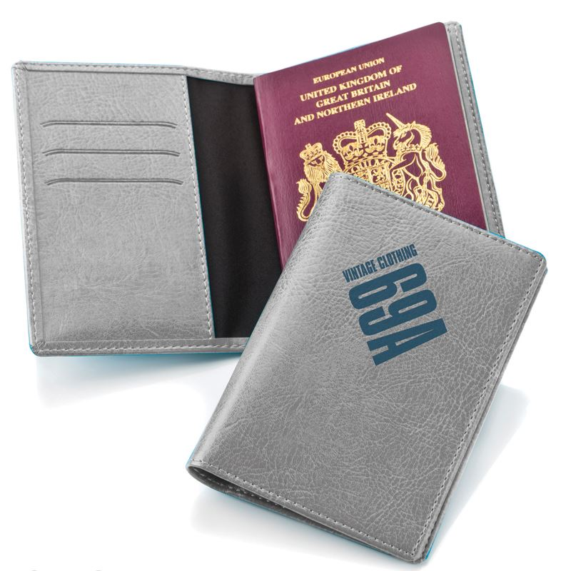 Picture of Belluno Leatherette Passport Wallet