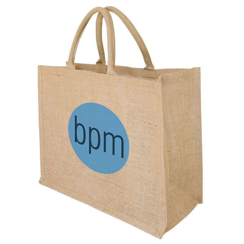 Picture of Oak Large Jute Shopper