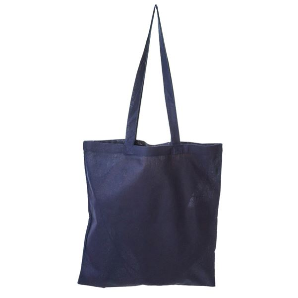 Picture of Coloured cotton shopper