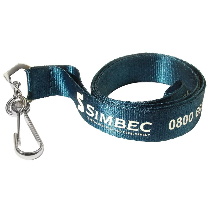 Picture of 20mm Flat Polyester Lanyard