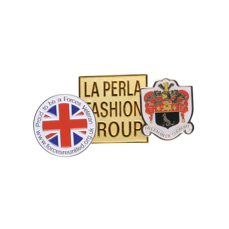 Picture of Hard Enamel Metal Badge