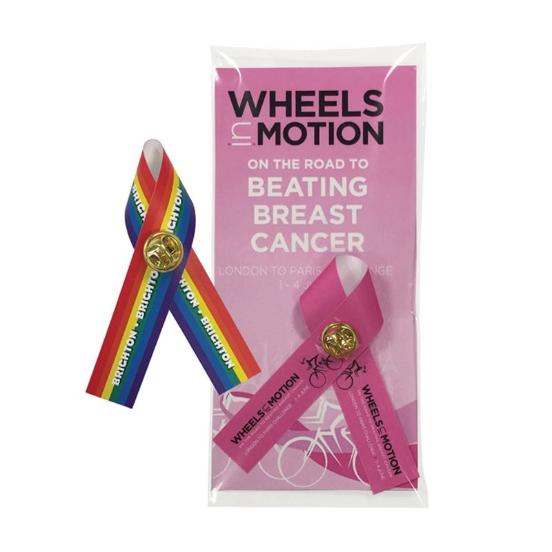 Picture of Full Colour Polysoft Campaign Ribbon