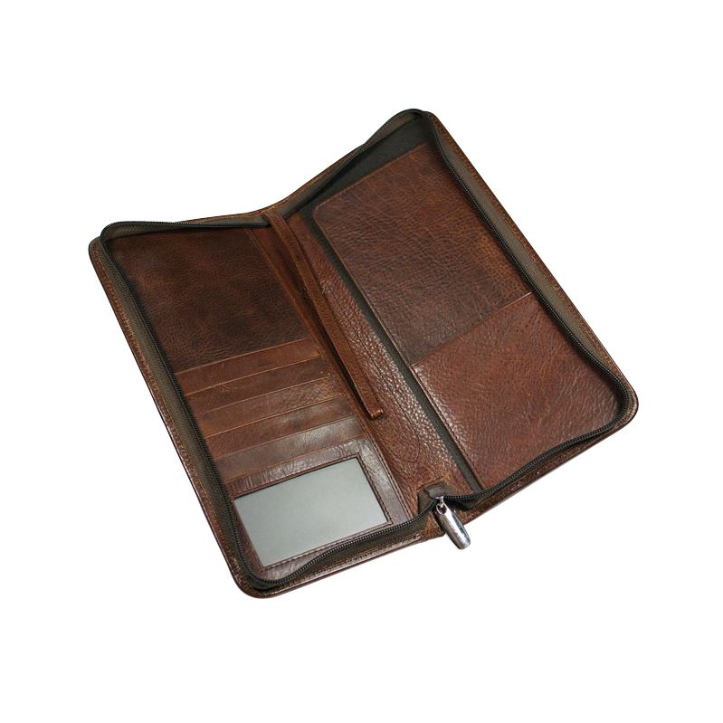 Picture of Ashbourne Leather Travel wallet
