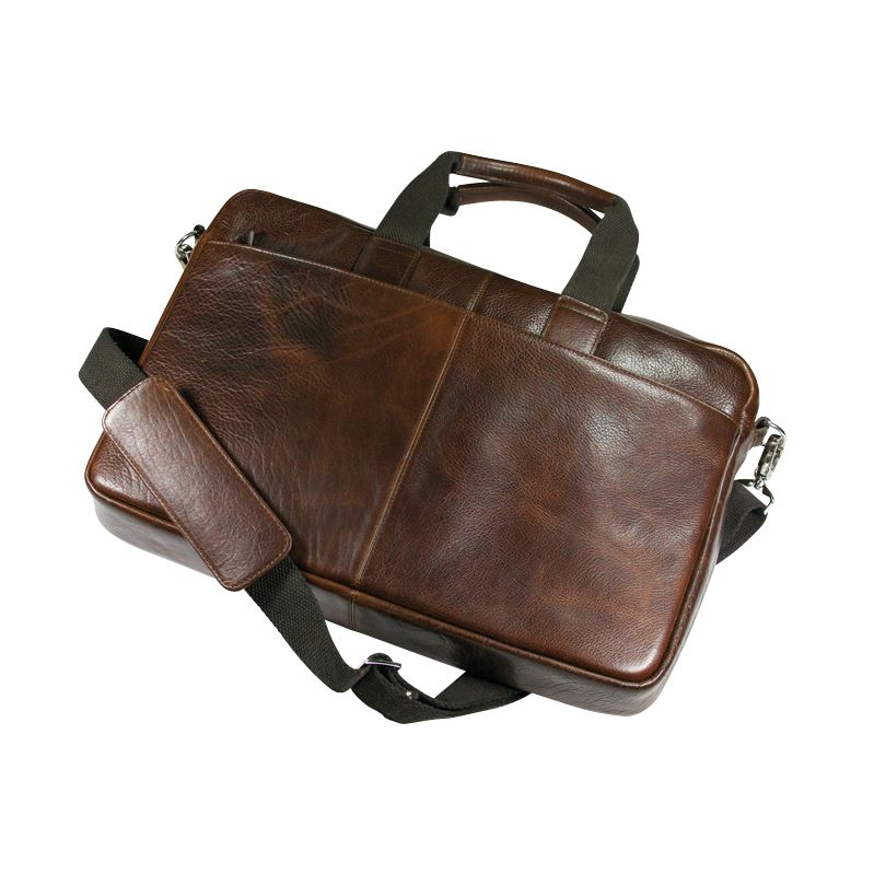 Picture of Ashbourne Leather Laptop Bag