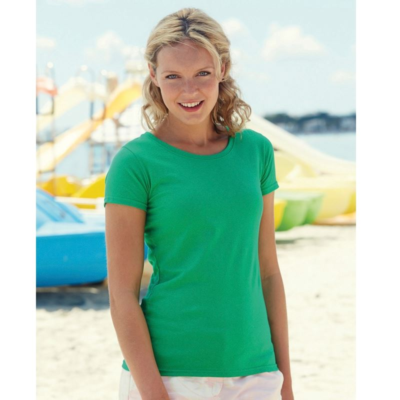 Picture of Fruit of the loom lady-fit value weight T Shirt