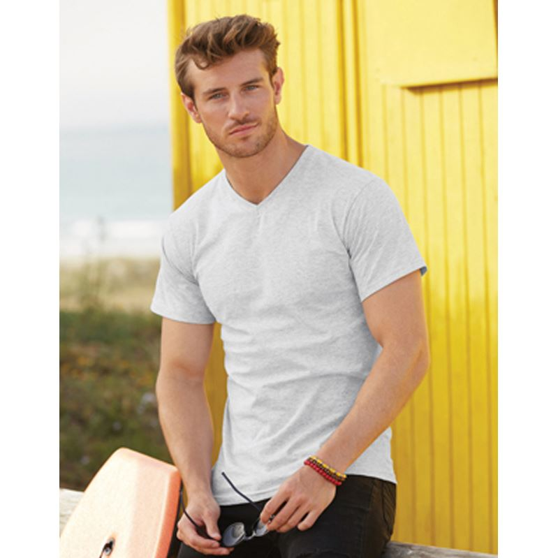 Picture of Mens V-neck Valueweight T-shirt