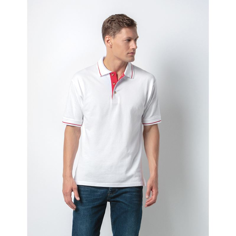 Picture of St Mellion Tipped Collar Cotton Polo