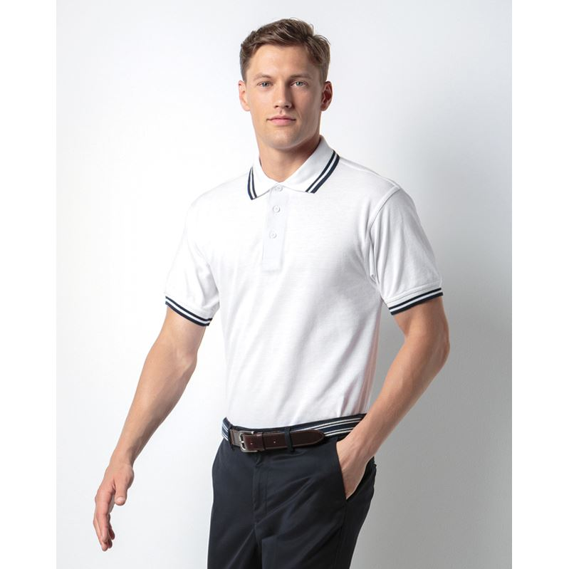 Picture of Tipped Collar Polo