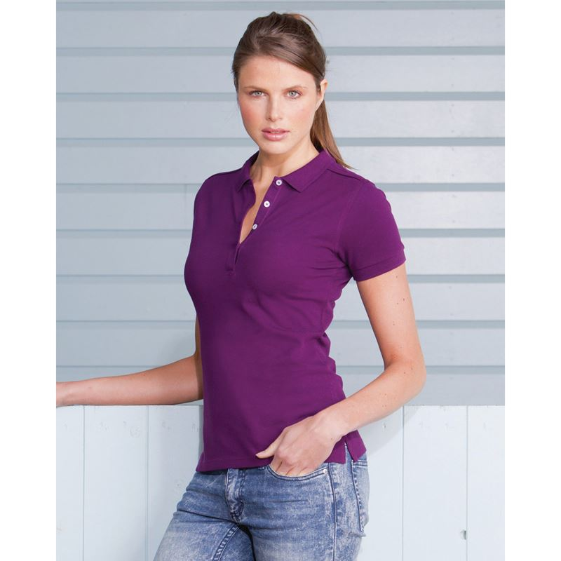 Picture of Ladies stretch polo shirt