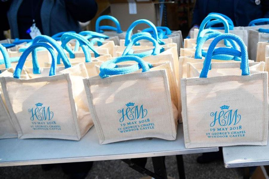 Merchandise in action a right royal goody bag