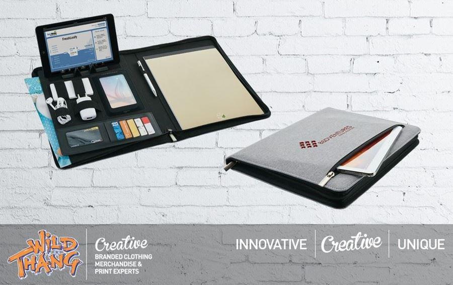 Tech Gadget Portfolio Folder