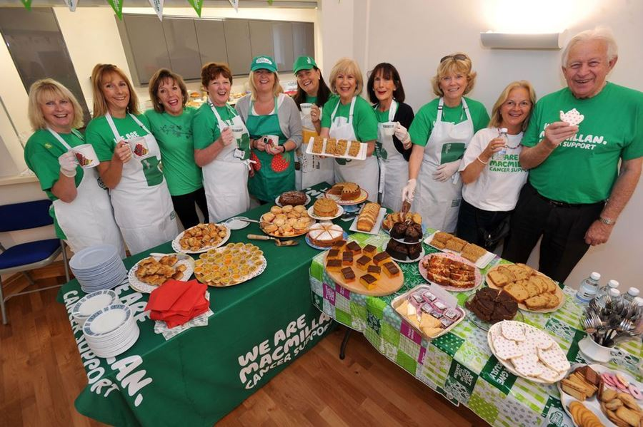 Branded Merchandise in Action MACMILLAN HAS GOT THAT COFFEE MORNING CORNERED !