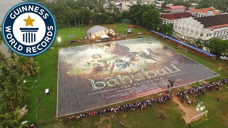 Worlds largest poster certainly makes a sizeable impact!