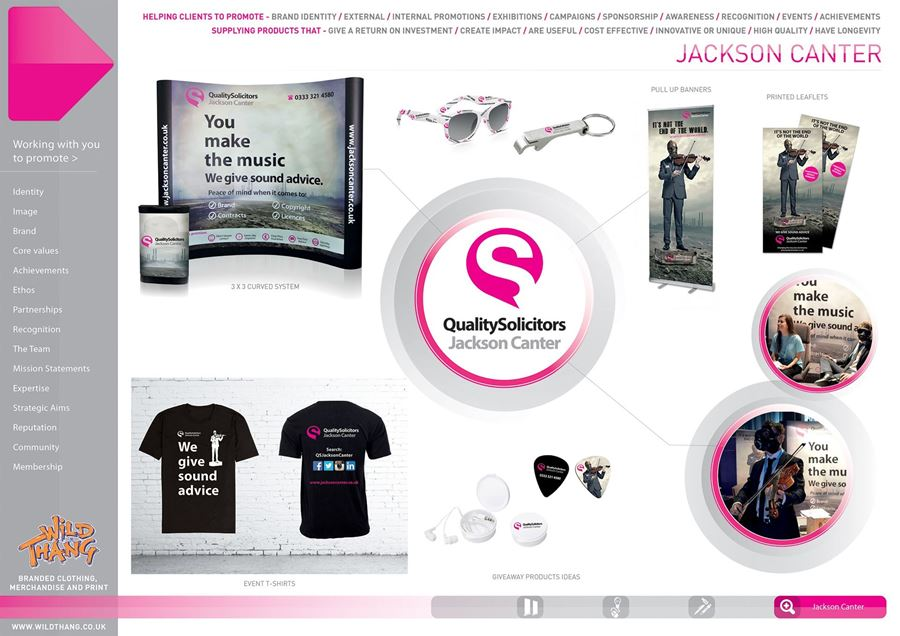 Showcase Campaign Jackson Making a canter to a great merchandise campaign