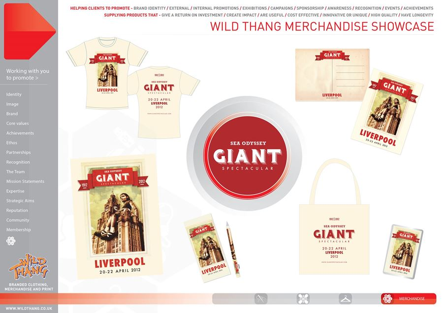 Giant Spectacular Merchandise Showcase