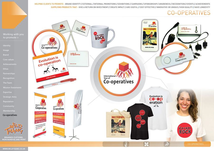 SHOWCASE CAMPAIGN WORLD CLASS MERCHANDISE CO-OPERATION WITH THE CO-OP