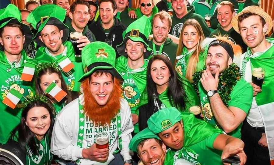 MERCHANDISE IN ACTION Raising A Glass To St Patrick's Day!