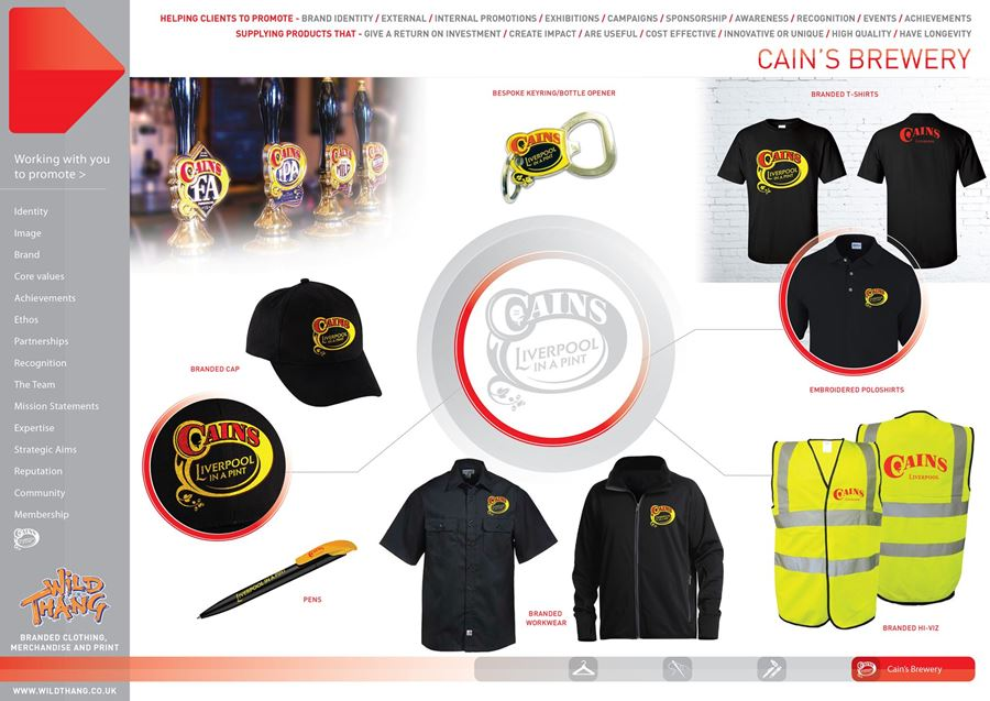 SHOWCASE CAMPAIGN CAINS BREWERY