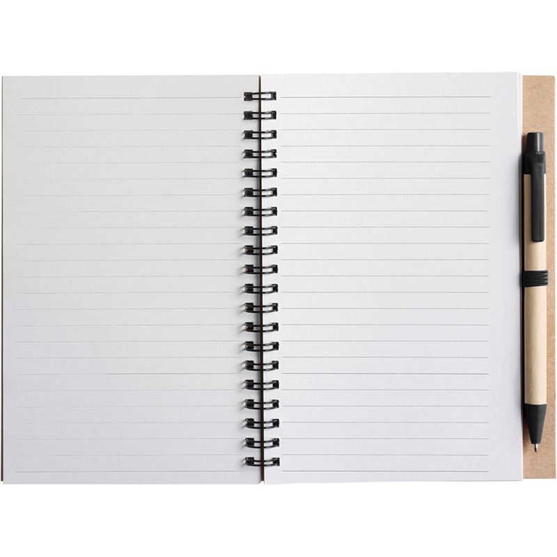 Picture of Wire bound notebook with ballpen