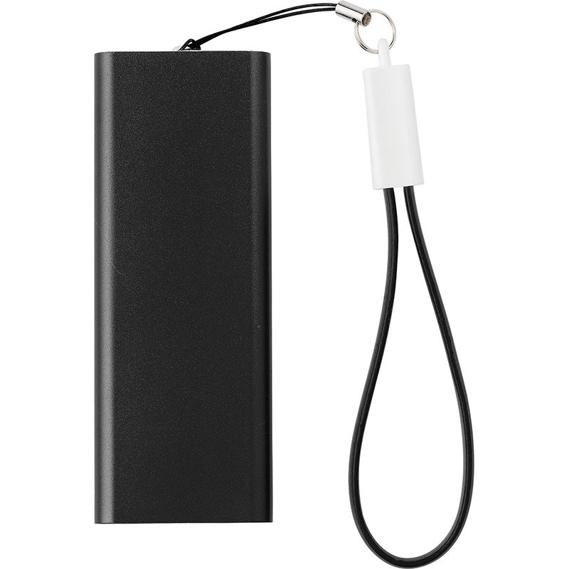 Picture of Aluminium power bank with Li-polymer 2000mAh