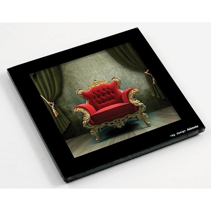 Picture of Sublimation Glass Coaster