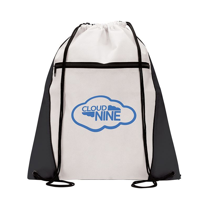 Picture of Contrast Drawstring Bag