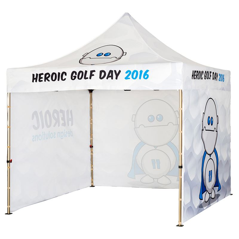 Picture of 3m x 3m Gazebo includes 3 walls