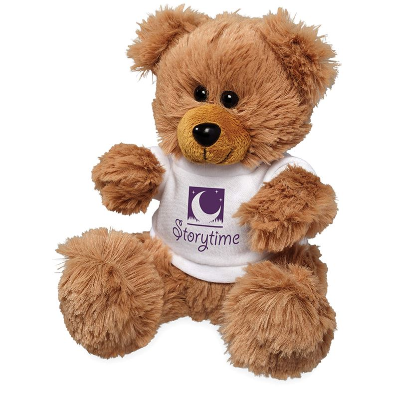 Picture of Plush Sitting Bear with Shirt