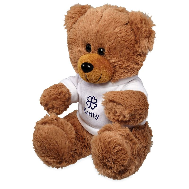 Picture of Large Plush Sitting Bear with Shirt