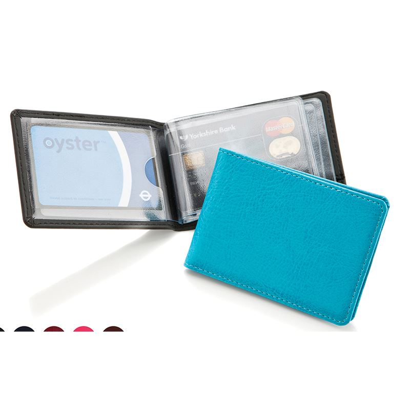Picture of Belluno Leatherette Credit Card Case for 6-8 Cards.