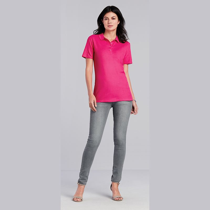 Picture of Gildan soft style cotton polo shirt