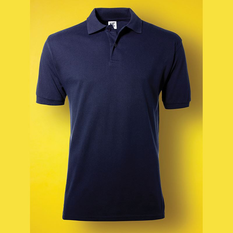 Picture of SG Mens Cotton Polo Shirt