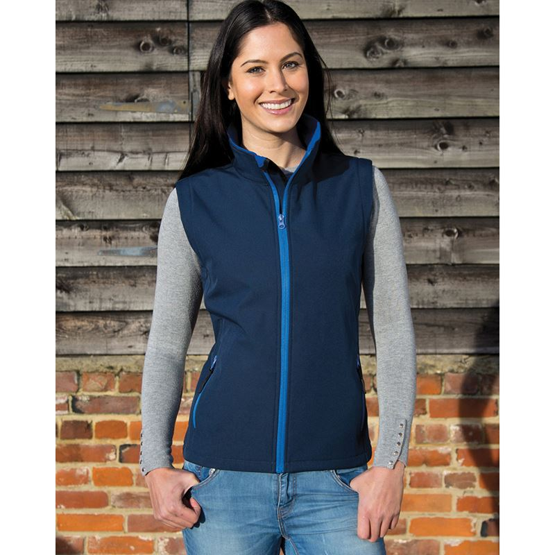 Picture of Ladies Softshell Bodywarmer