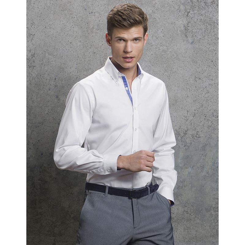 Picture of Mens Contrast Oxford Shirt