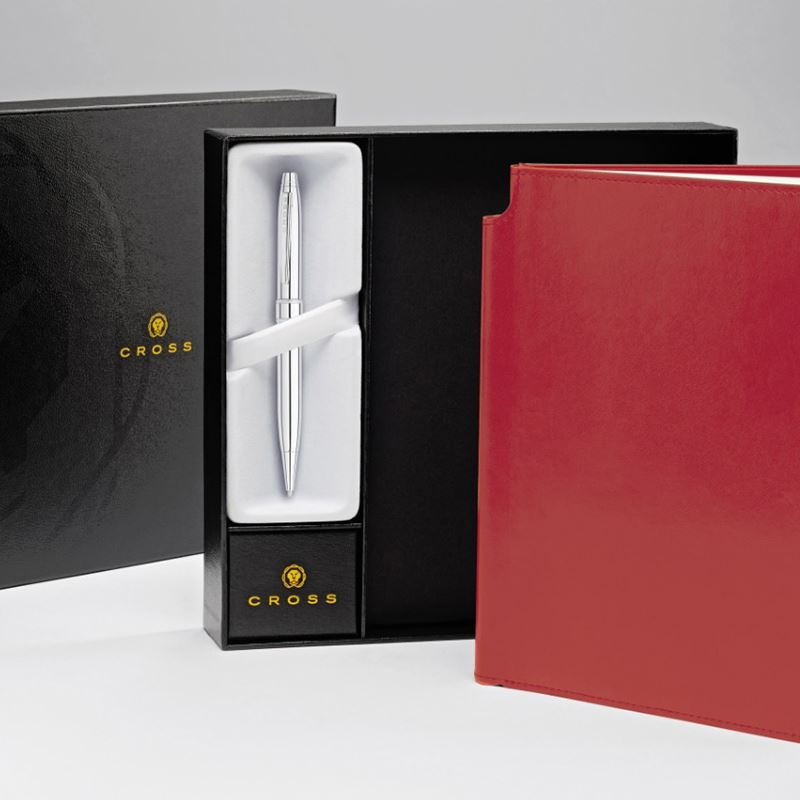 Picture of CROSS Medium Journal & Stratford Ball Pen Gift Set