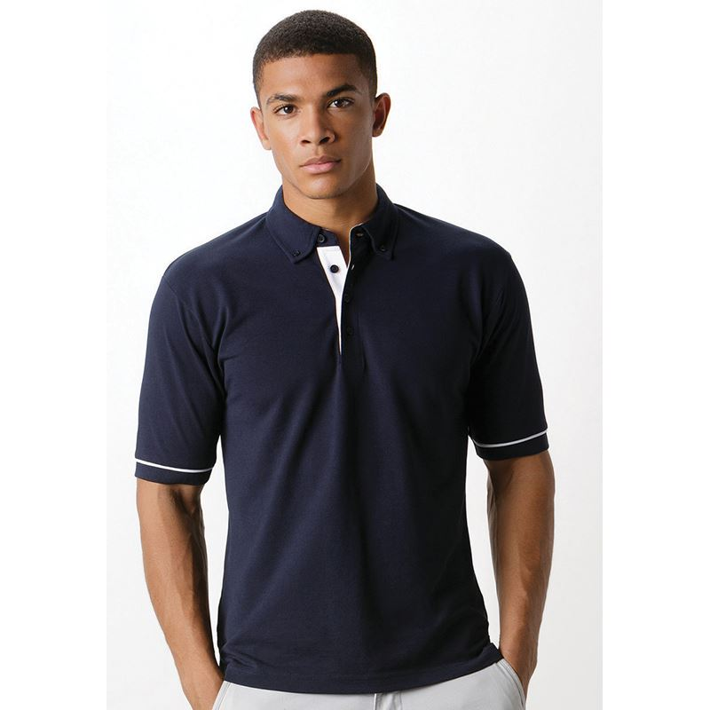 Picture of Mens Contrast Polo Shirt