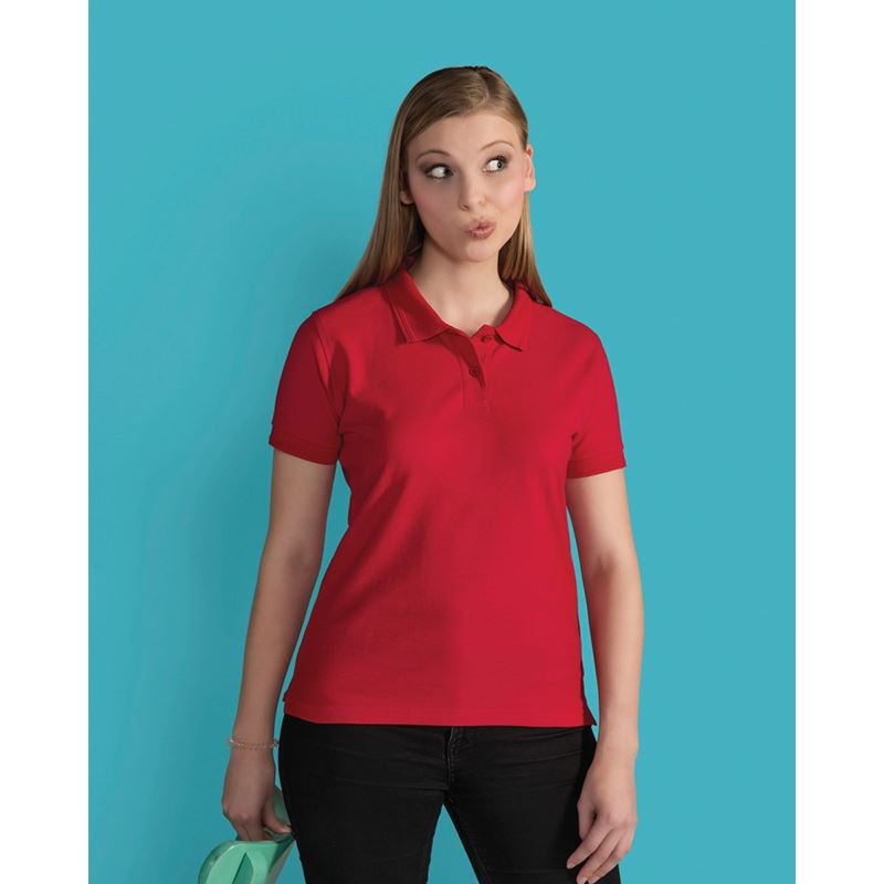 Picture of SG Ladies Poly/Cotton Polo Shirt