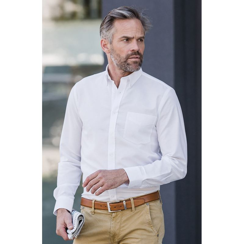 Picture of Mens Tailored Oxford Shirt