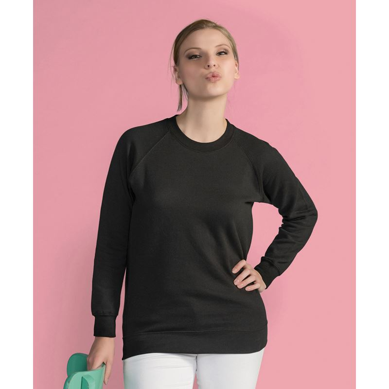 Picture of Unisex Raglan Sleeve Sweat Shirt