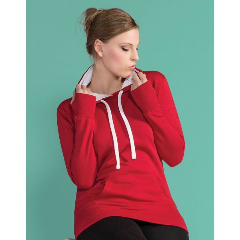 Picture of Ladies Contrast Hoodie