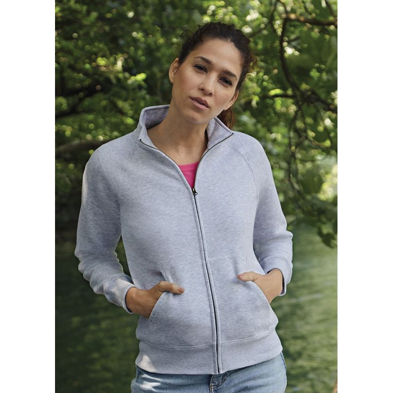 Picture of Ladies Premium Sweat Jacket